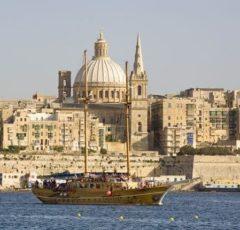 Malta-la-valleta-bahía