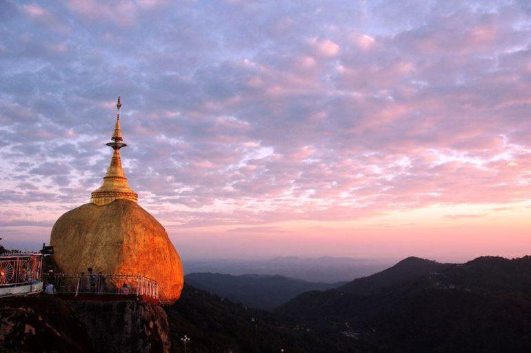 Myanmar-pagoda-golden-rock